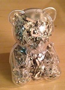 Shredded US Currency Teddy Bear