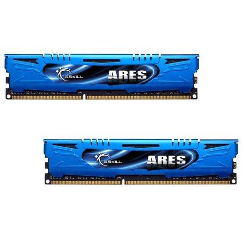 G.SKILL F3-1866C9D-8GAB Ares Series 8GB 2 X 4GB 240-Pin DDR3 SDRAM 1866MHz PC3 14900 Desktop Memory