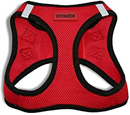 Best Pet Supplies, Inc. All Season Harness - Red Base (M), Red