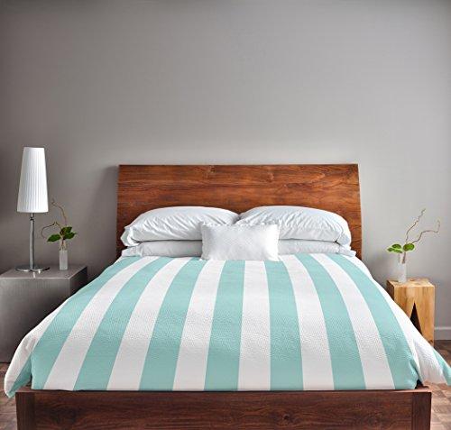 Details for Ebydesign Stripe Duvet Cover, Queen, Ocean from Ebydesign