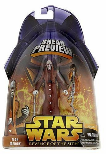 Star Wars: Revenge of the Sith Sneak Preview Tion Medon Action Figure