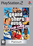 Grand Theft Auto: Vice City - Platinum (PS2)