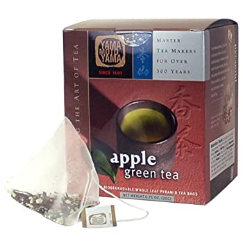 YMY 1690 Apple Green Tea Pyramid Sachet