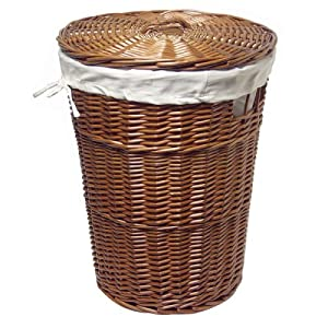 Burlington Baby Cherry Willow Hamper with Liner