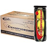 Gamma Championship Tennis Balls - Case of 24 Cans by Gamma