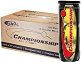 Gamma Championship Tennis Balls - Case of 24 Cans