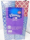 Kleenex Ultra Soft Facial Tissue, 12-Pack