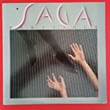 SAGA Behaviour LP Vinyl VG++ Cover VG+ Lyric Sleeve BFR 40145