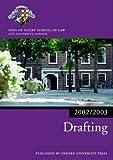 img - for Drafting 2002/2003 (Blackstone Bar Manual) book / textbook / text book