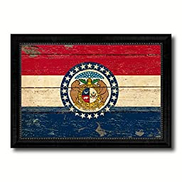 Missouri State Vintage Flag Collection Western Interior Design Souvenir Gift Ideas Wall Art Home Decor Office Decoration - 23\