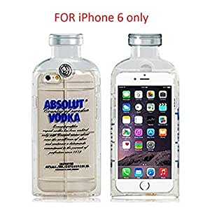 "ABSOLUT VODKA Design TPU Rubber Shell Case for iPhone 6, 4.7"" (Transparent)"