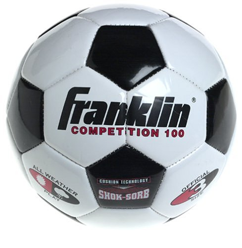 Franklin Sports 6782 3 Competition 100 Soccer Ball,