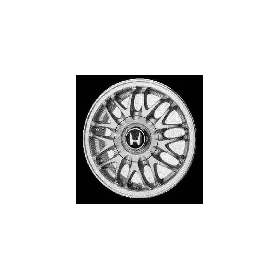98 02 HONDA ACCORD COUPE ALLOY WHEEL RIM 14 INCH, Diameter 14, Width 5.5 (18 SPOKE, 4CYL, 4 LUG), SILVER, 1 Piece Only, Remanufactured (1998 98 1999 99 2000 00 2001 01 2002 02) ALY63788U10