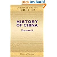 History of China: Volume 2