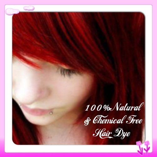 Deep / Wine Red Henna Hair Dye 100 Grams (Premium