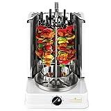 Schaschlikgrill Vertikal Elektrogrill Premium Grill + 12 Spieße gratis