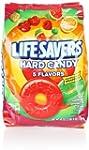 Lifesavers Hard Candy, Five Flavor, 4...