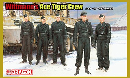Dragon Models Wittmann's Ace Tiger Crew Model Kit (Ace Model Kits compare prices)