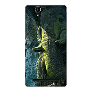 Premium Rock Ganesha Back Case Cover for Sony Xperia T2