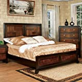 Petra Panel Bedroom Collection Size: California King