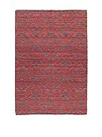 Jalal Alfombra In Mali Rojo/Gris 140 x 200 cm