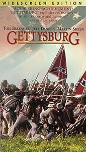 Gettysburg (Widescreen Edition) [VHS]