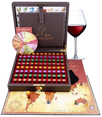 Coffret Maître Sommelier - 88 Arômes du Vin (Roue des Arômes du Vin incluse)