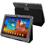 Leather Case for Samsung© Galaxy Tab 10.1 P7500, Black