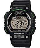 Casio Men's STLS100H-1AV Solar Powered Runner's Watch, Black