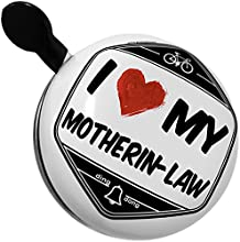 Bicycle Bell I Love my Motherin-Law by NEONBLOND