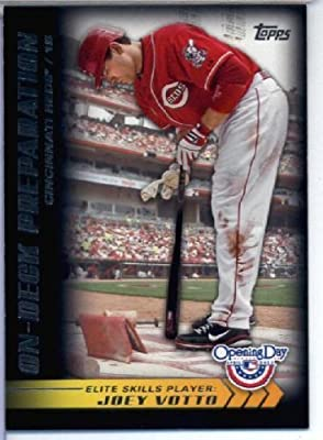 2012 Topps Opening Day Elite Skills Baseball Card #ES16 Joey Votto - Cincinnati Reds - MLB Trading Card