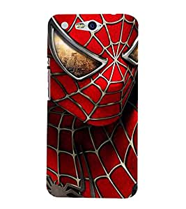 Vizagbeats Spider Man Back Case Cover for Infocus M812