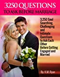 3250 Questions to Ask Before Marriage