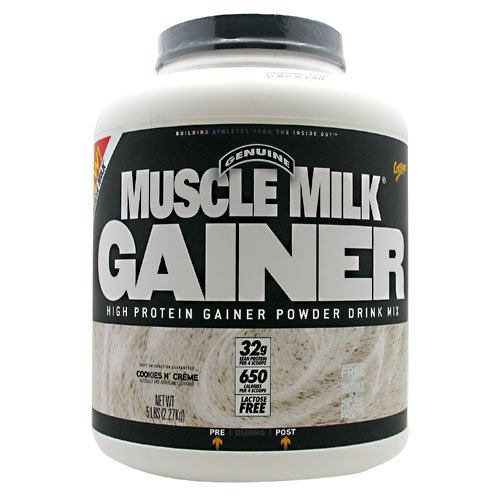 Cytosport Muscle Milk Gainer Cookies & Cream -- 5 Lbs