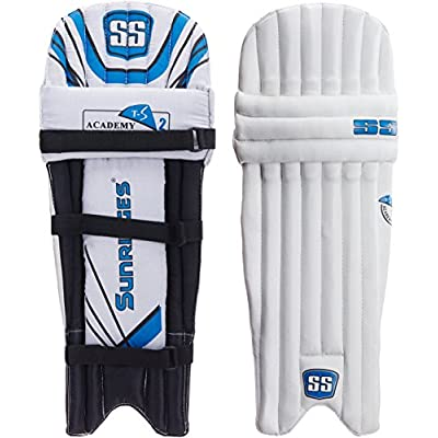 SS Academy Youth RH Batting Legguard (White)