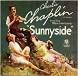 movie poster of Charlie Chaplin in Sunnyside