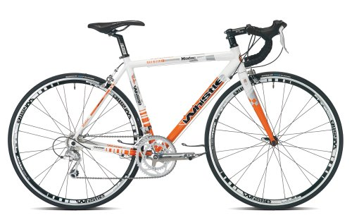 Whistle Modoc Sora-18 Mens Road Bike - White/Orange, 54-cm