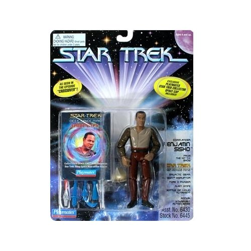 Star Trek: Deep Space Nine Series 3 Commander Sisko from Crossover Action Figure