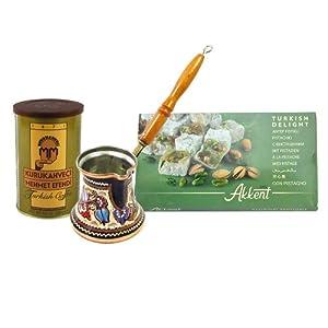 Turkish Coffee Pot (cezve/ibrik) XL 14 oz from Turkish Coffee World