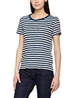 Levi's Camiseta Manga Corta The Perfect Pocket Tee (Azul Marino / Blanco)