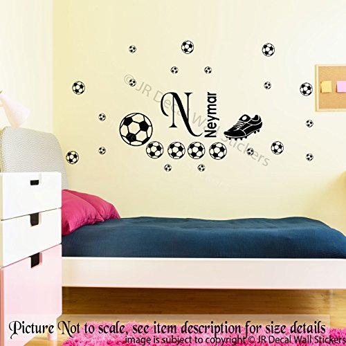 football-boot-wall-stickers-personalized-name-removable-vinyl-decal-kids-room-wall-art-nursery-room-