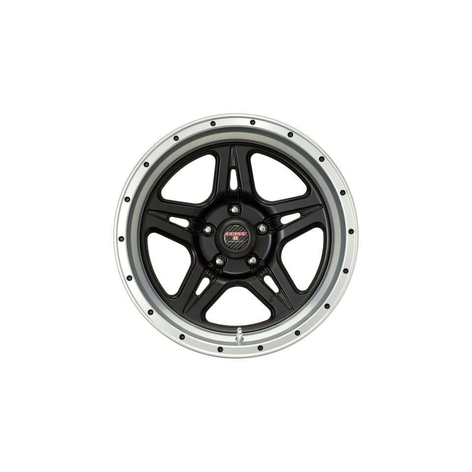 Level 8 Strike 5 18 Black Machined Wheel / Rim 5x150 with a 12mm Offset and a 112.2 Hub Bore. Partnumber 63451
