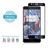 #6: OnePlus 3T/ OnePlus 3 Full Cover 2.5D Mivi Military Grade Anti-Scratch Tempered Glass (Midnight Black and Black)