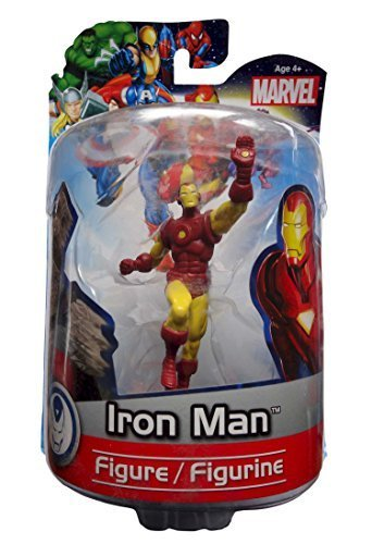 MARVEL Iron Man Figure by MONOGRAM 4 Inch Figurine