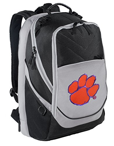 Clemson Backpack Clemson Tigers Computer Bag w/ Laptop Sleeve