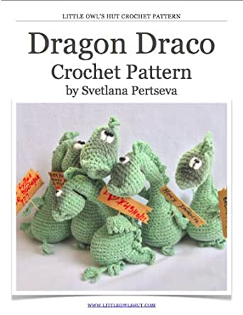 Amigurumi Dragon Wings Pattern : Dragon Crochet Pattern. Amigurumi toy eBook: Svetlana ...