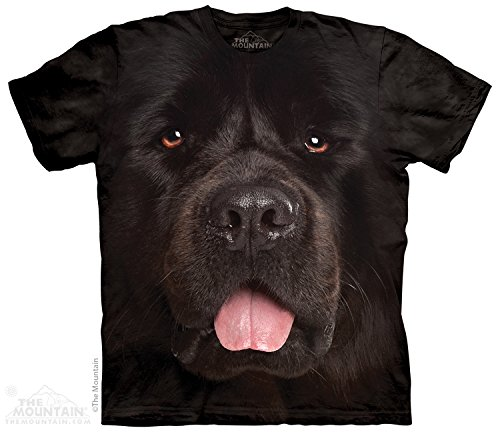 Big Face Newfie - Newfoundland Dog Tee