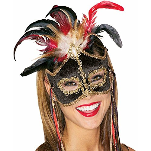 Bird of Paradise Mardi Gras Mask