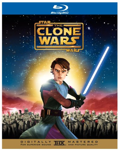 Cover art for  Star Wars: The Clone Wars [Blu-ray]