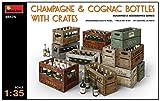 1/35 シャンパン & コニャックボトル 木枠箱付 プラモデル MA35575